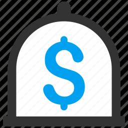 balance, banking, deposit, finance, income, money, savings icon