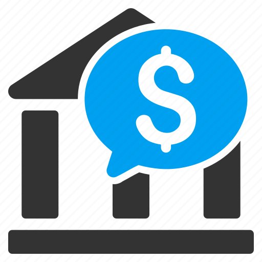 balloon, bank message, chat, communication, finance, payment, transaction icon