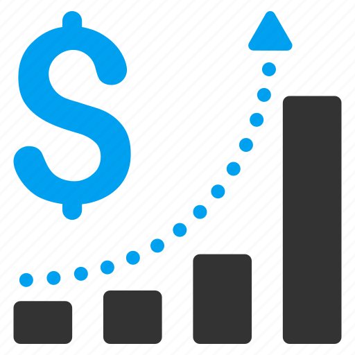 business graph, chart, data analysis, diagram, sales growth, statistics, trend icon