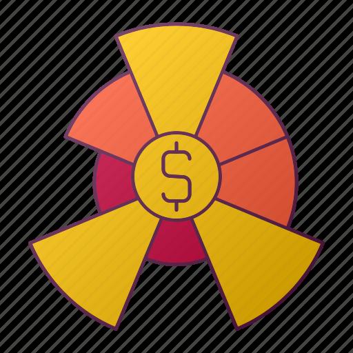 analytics, chart, diagram, graph, money, report, seo icon