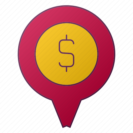 analytics, bank, currency, location, pin, report, seo icon