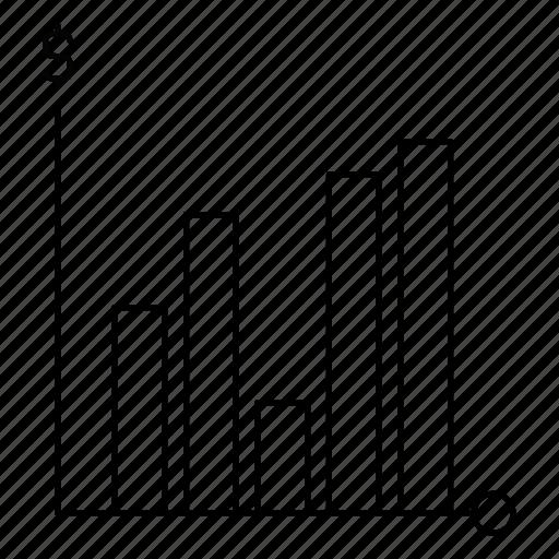 diagram, graph, raport, statistics icon