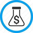 alchemy, chemical glass, chemistry, flask, lab, laboratory, retort icon
