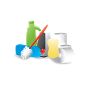 cleaning, janitor, materials icon