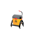 bucket, cleaning, container, janitor, mop, mop and bucket, wet icon
