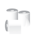 cleaning, janitor, tissue, toilet paper icon
