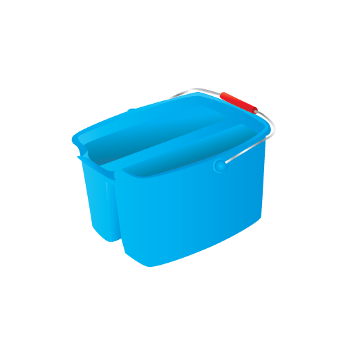 bucket, cleaning, janitor icon