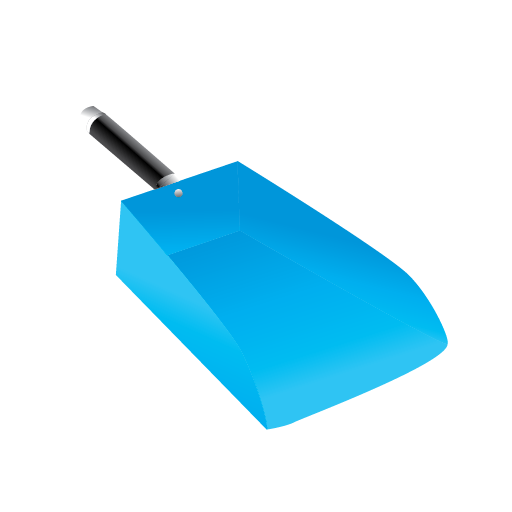 cleaning, dust, janitor, pan icon