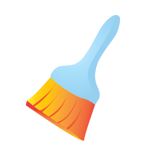 broom, cleaning, janitor, small icon