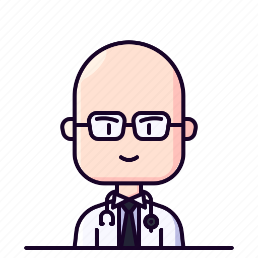 Avatar, doctor, male, medic, profession icon - Download on Iconfinder