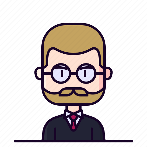 Attorney, avatar, lawyer, male, profession icon - Download on Iconfinder