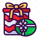 christmas, gift, giftbox, present, winter icon