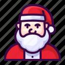 avatar, christmas, claus, santa, winter