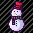 christmas, smile, snow, snowman, winter