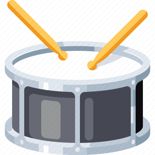 Audio, drum, instrument, music, musical, percussion, sound icon - Download on Iconfinder