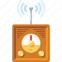 audio, music, player, radio, signal, speaker, volume icon