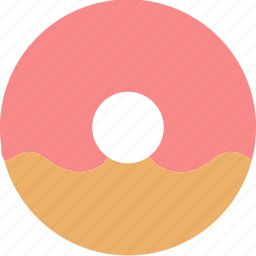 bread, dessert, donuts, doughnuts, food, pastries, strawberry icon