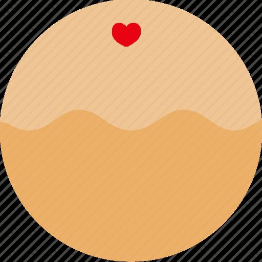 bread, dessert, donuts, doughnuts, food, heart, pastries icon