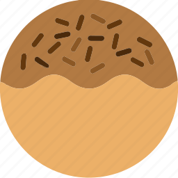 bread, dessert, donuts, doughnuts, food, pastries, sprinkles icon