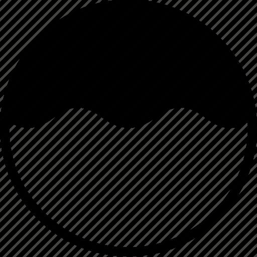curves, donuts, doughnuts, food, shapes, symbols, waves icon