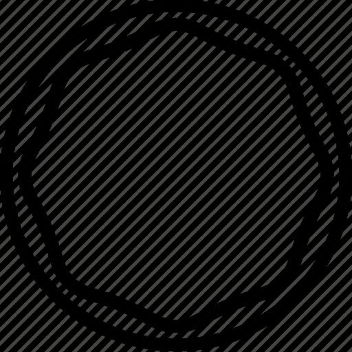 badge, circle, dessert, donuts, doughnuts, food, shapes icon