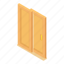 cartoon, coupe, door, doorway, entrance, home, house icon