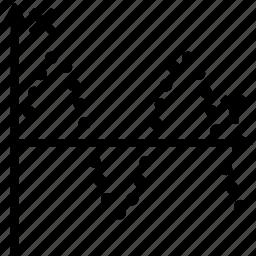 amplitude, chart, graph, object, plot, sine, wave icon