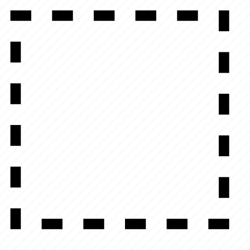 border, cell, content, no, square, table icon