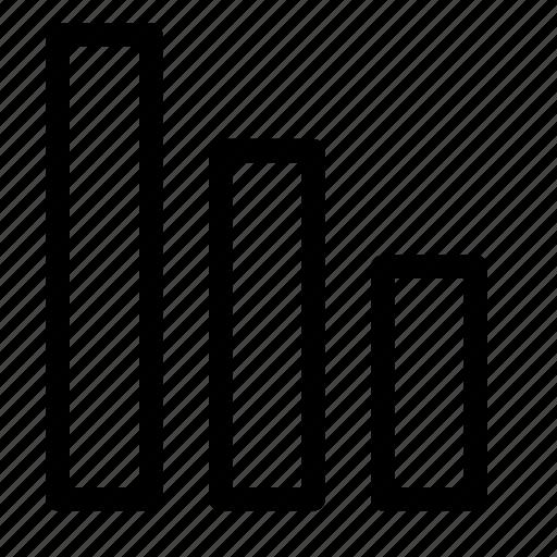 analytics, chart, content, data, report icon