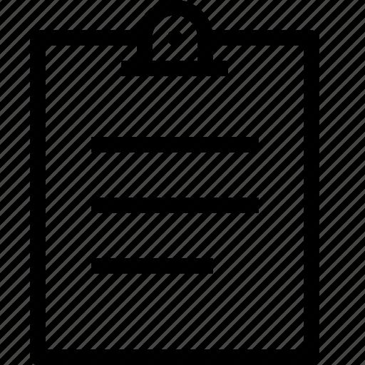 clipboard, content, copy, editor, paper icon