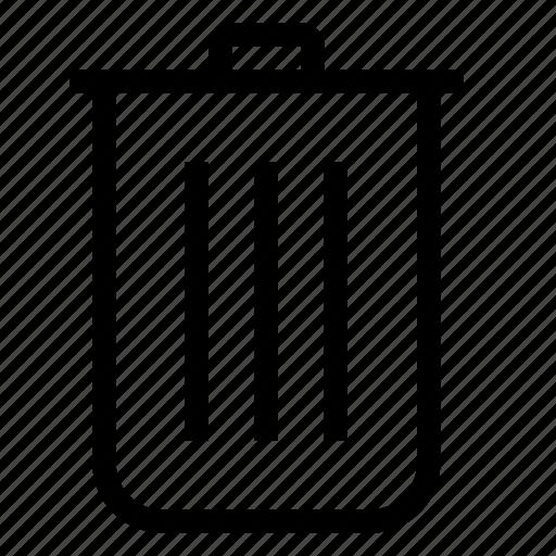 content, delete, recycle, remove, trash icon
