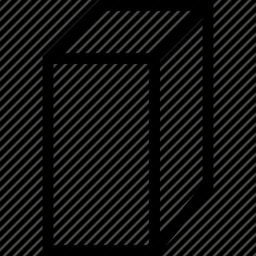 3d, box, cuboid, design icon