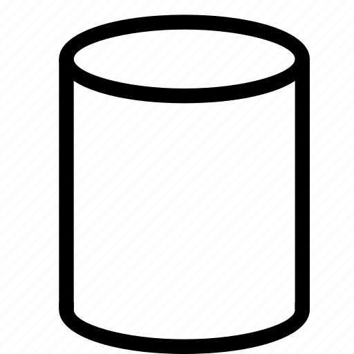 3d, cylinder, design, geometry, shape icon