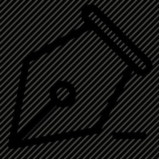 design, fountain, minus, pen, vector, write icon