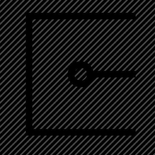 angular, border, design, end, point, vector icon