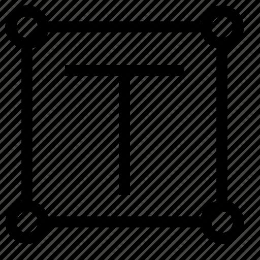 content, design, text, type, vectorize icon