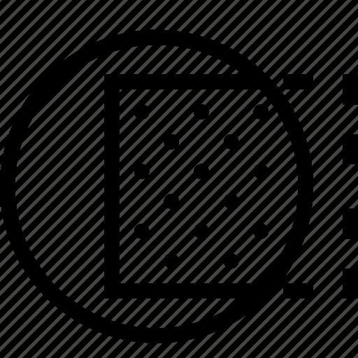 combine, design, hide, mask, subtract icon
