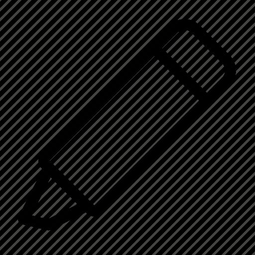 design, edit, highlighter, marker, pen icon