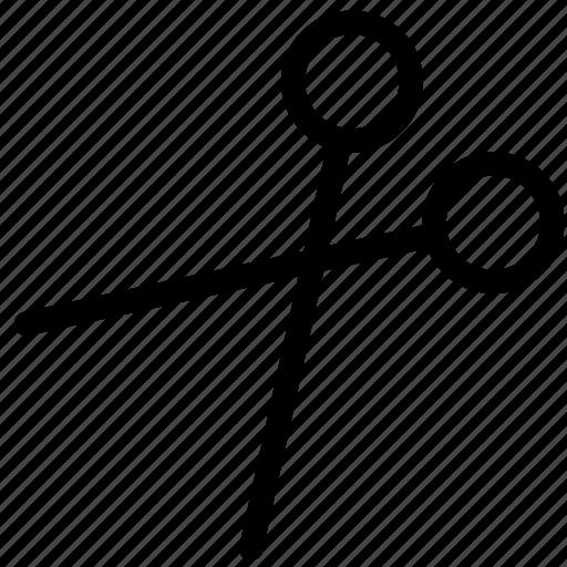 cut, design, edit, remove, scissors icon