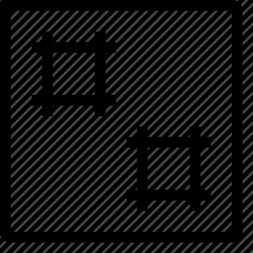 artboard, canvas, design, graphic, layout icon