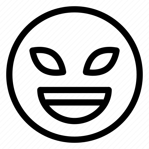 emoticon, emotion, face, happy, smile icon