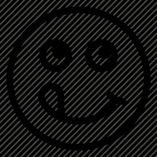 emoticon, emotion, face, happy, smile icon