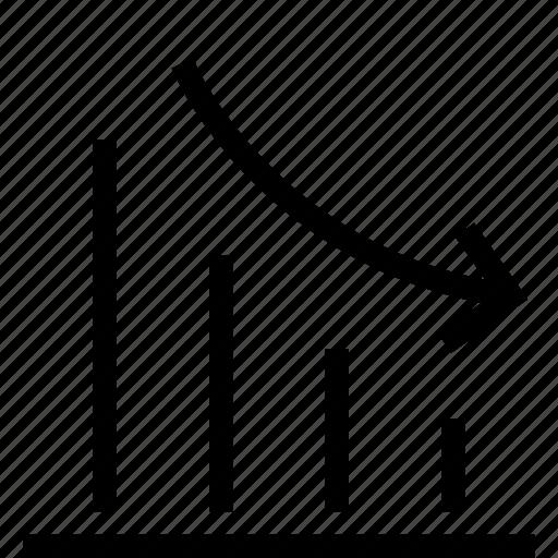 analytics, bar, chart, data, report, statistic icon