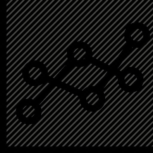 analytics, chart, data, line, report, statistic icon