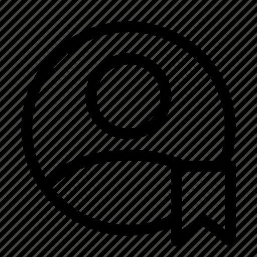 account, bookmark, people, profile, user icon