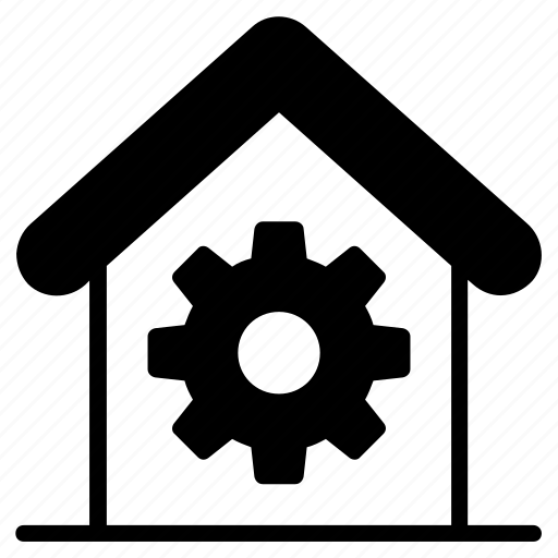 building, decoration, house, house settings, interior, paint, renovation icon