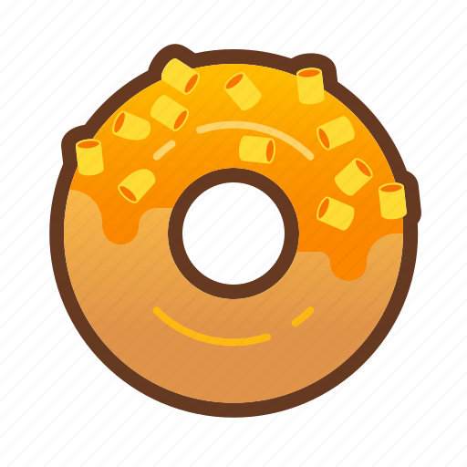 bakery, cheese, dessert, donut, doughnut, food icon