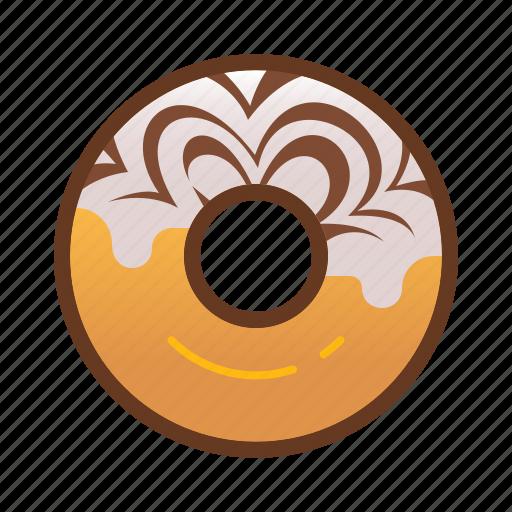 bakery, dessert, donut, doughnut, food icon