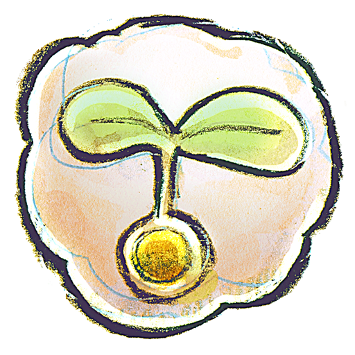 flower, seed icon