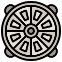 city, hatch, manhole, sewer, street, waste icon